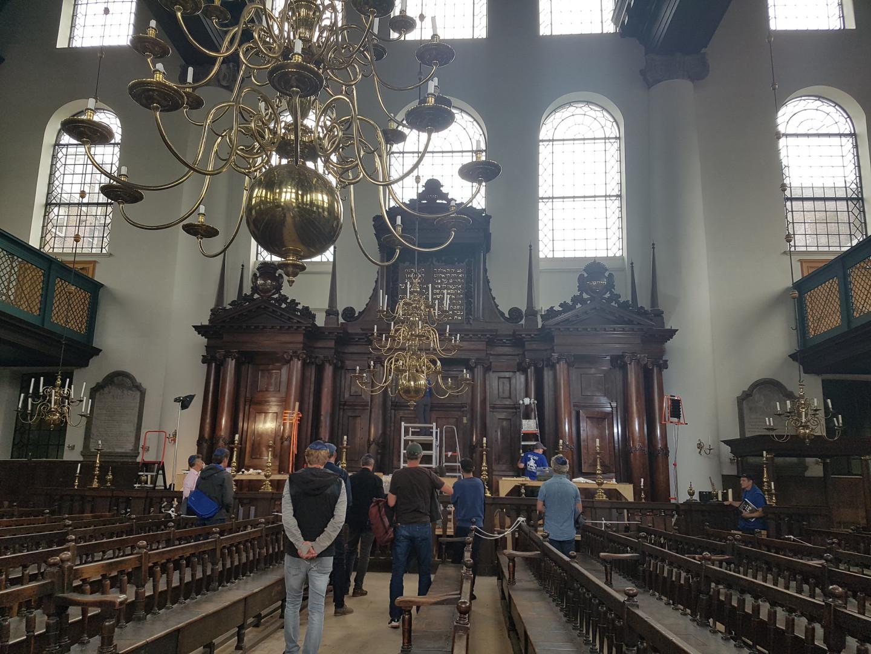 Bezoek aan de Portugese Synagoge
